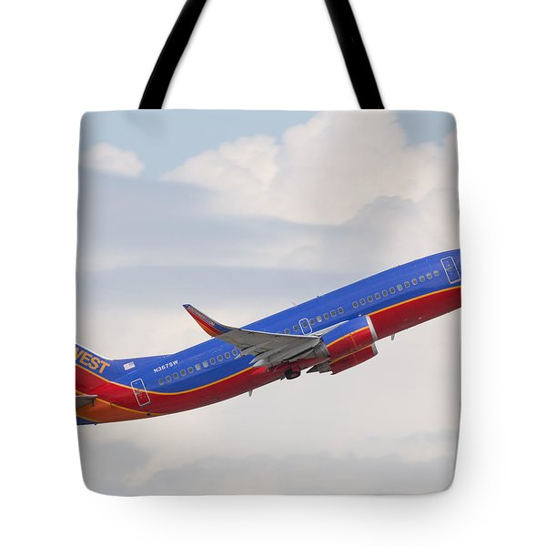 Southwest Jet Tote Bag