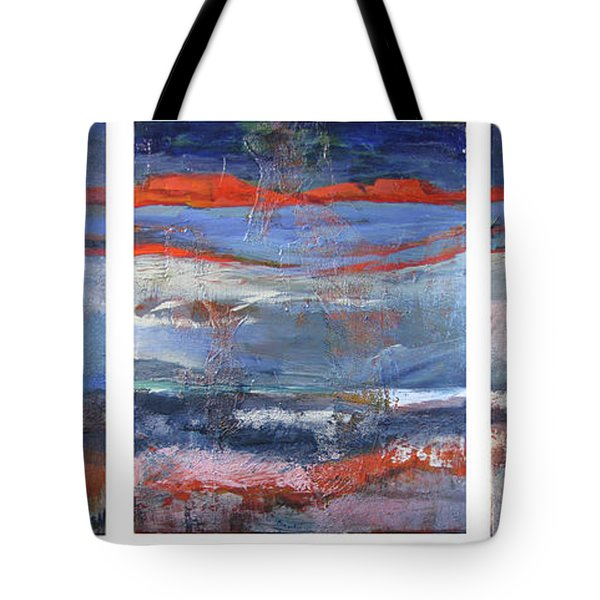 Tote Bag featuring the painting Southwest by Jillian Goldberg