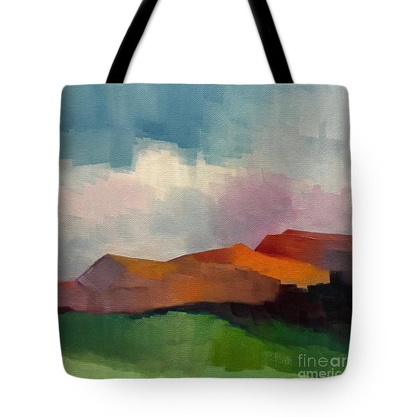 Tote Bag featuring the painting Southwest Light by Michelle Abrams