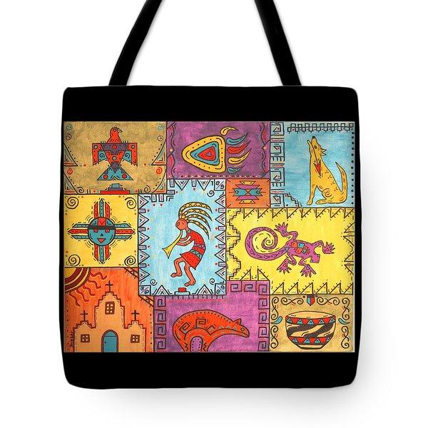 Southwest Sampler Tote Bag by Susie WEBER