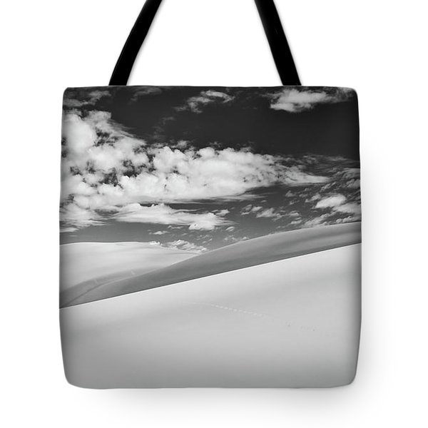 Southwest Sands Of Colorado In Black And White Tote Bag
