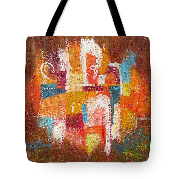 Southwest Sunburst Tote Bag
