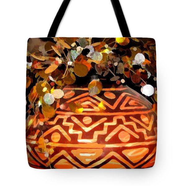 Southwest Vase Art Tote Bag by Gary Baird