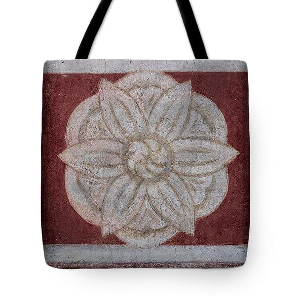 Southwestern Floral Medallion Tote Bag