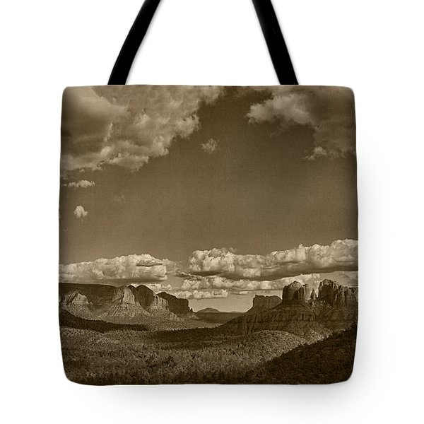 Southwestern Light Drama Tint Tote Bag
