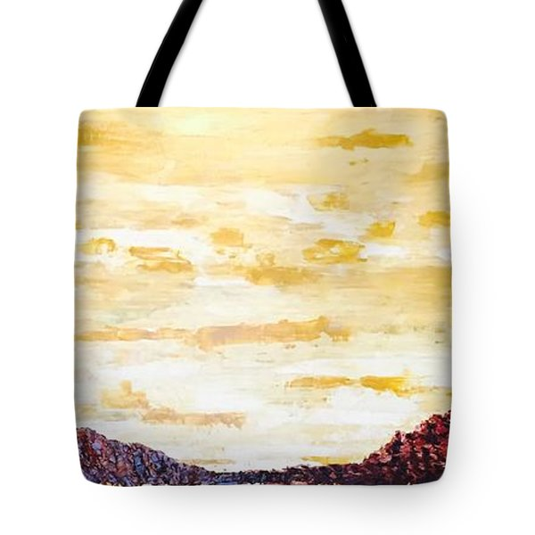 Southwestern Mountain Range Tote Bag