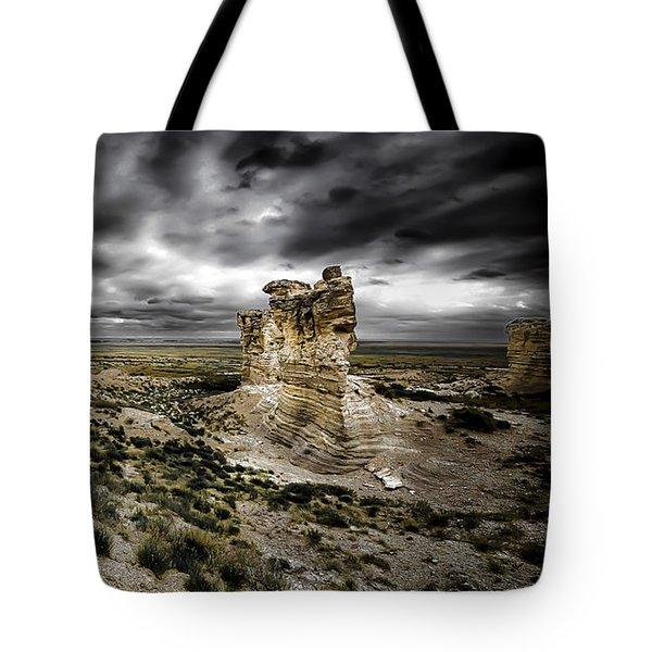 Southwestern Storm Tote Bag