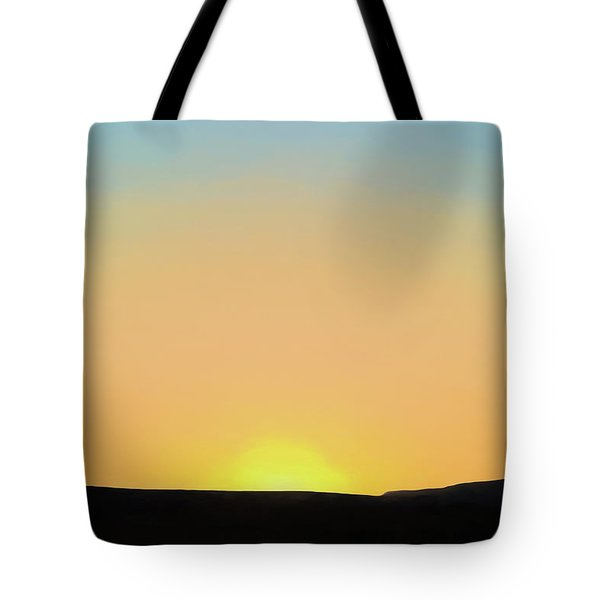 Tote Bag featuring the photograph Southwestern Sunset by David Gordon