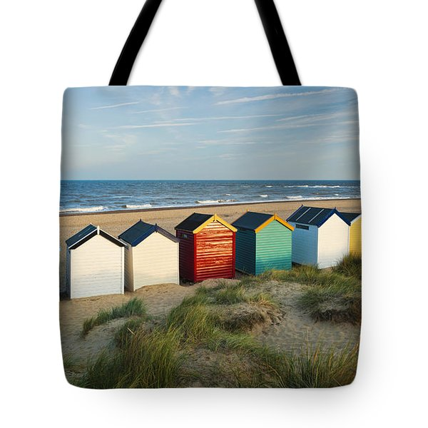 Southwold Beach Huts Tote Bag