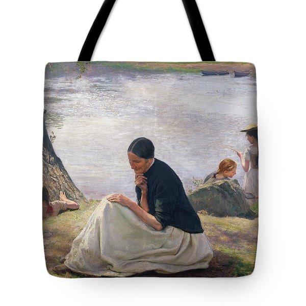 Souvenir Tote Bag by Emile Friant