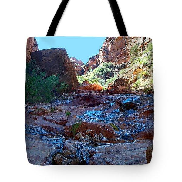 Sowats Creek Kanab Wilderness Grand Canyon National Park Tote Bag