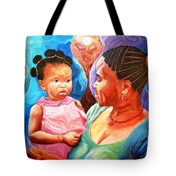 Sowing And Reaping Tote Bag by Bankole Abe