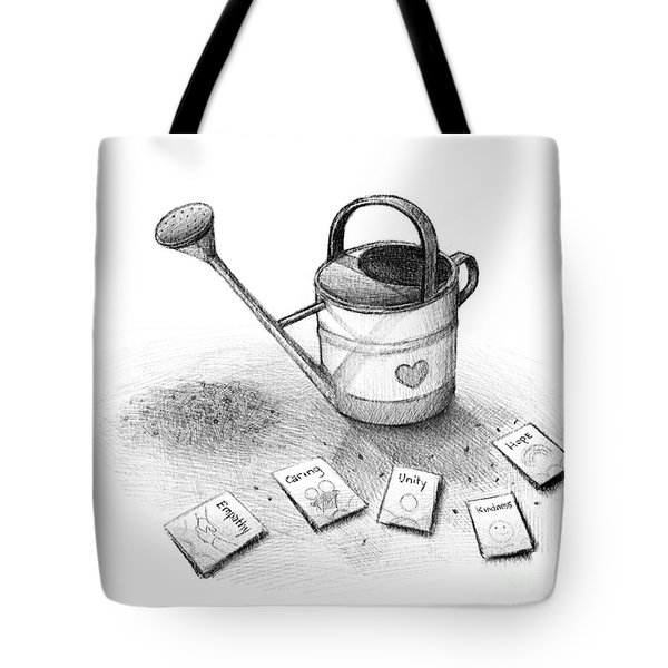 Sowing The Seeds Of Love Tote Bag