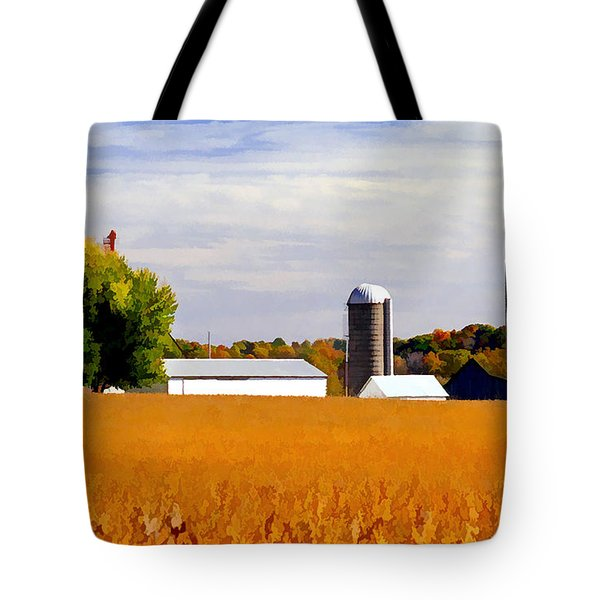 Soybean Tote Bag