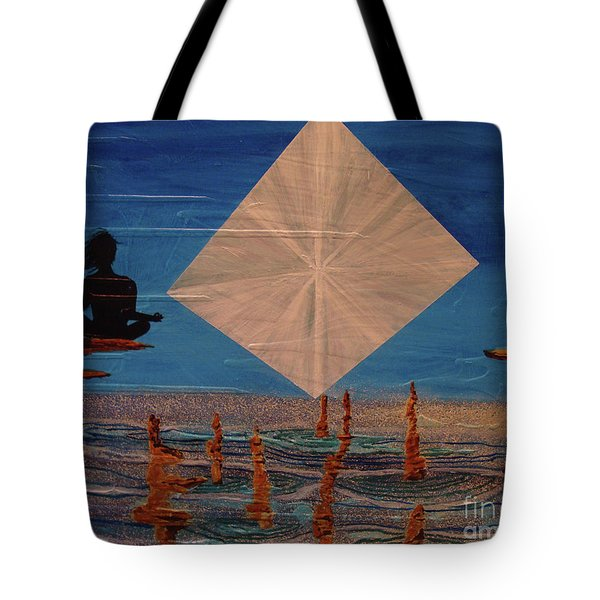Tote Bag featuring the painting Soycd by Stuart Engel