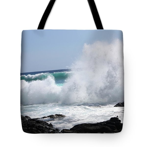 Sp-lash Tote Bag by Karen Nicholson