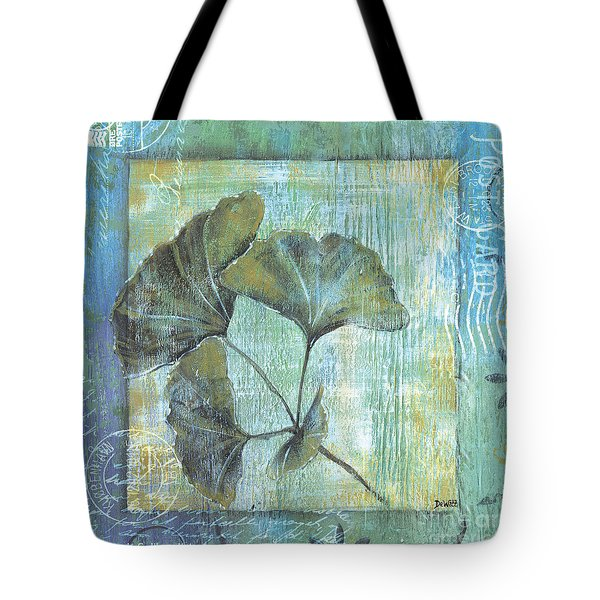 Spa Gingko Postcard 1 Tote Bag