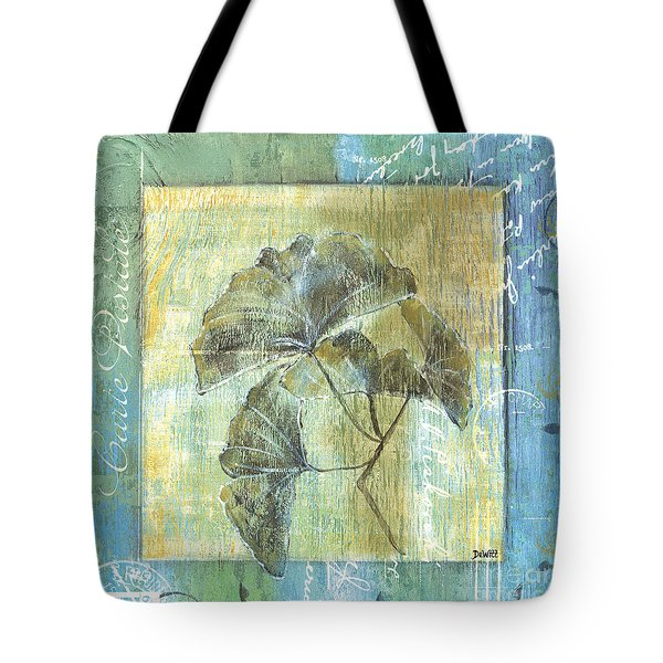 Spa Gingko Postcard  2 Tote Bag