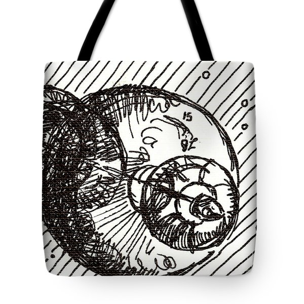Space 1 2015 - Aceo Tote Bag