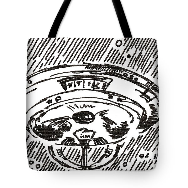 Space 2 2015 - Aceo Tote Bag