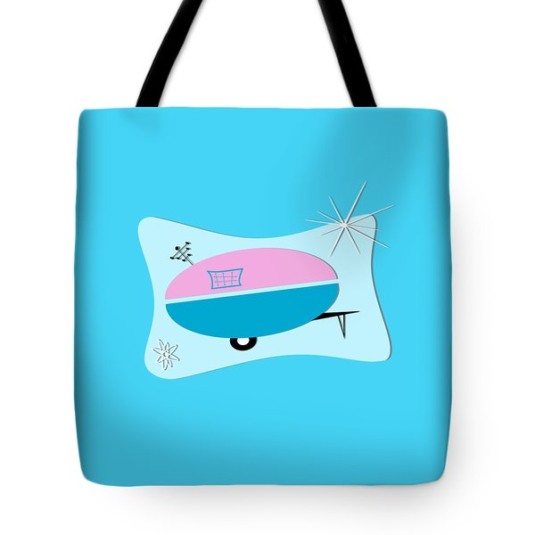 Space Age Camper Tote Bag
