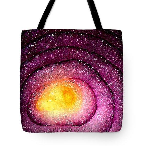 Space Allium Tote Bag