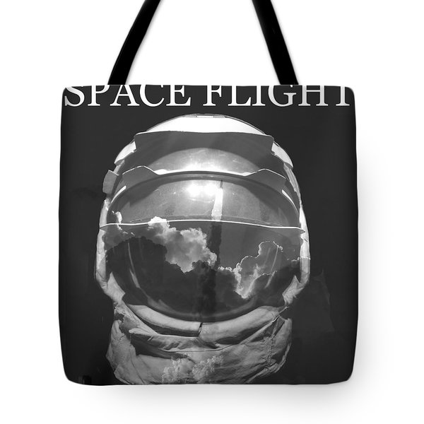 Tote Bag featuring the photograph Space Flight by David Lee Thompson