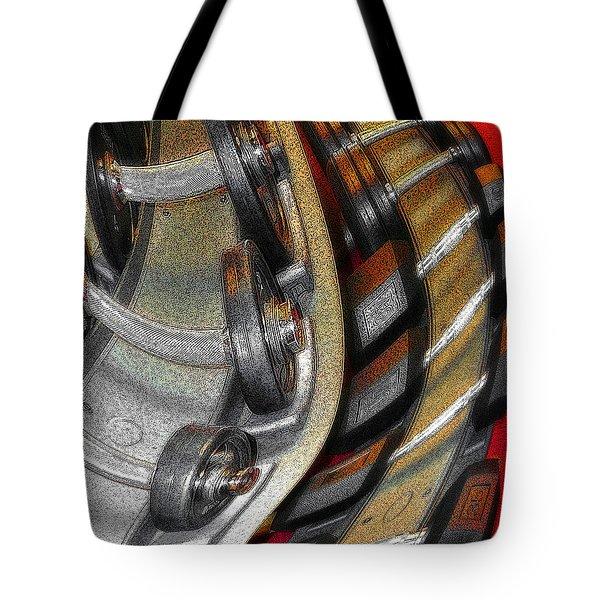 Space Geometry #3 Tote Bag
