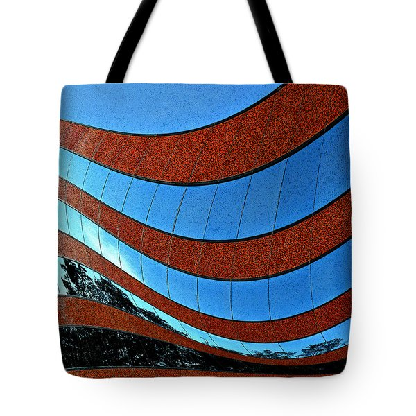 Space Geometry #8 Tote Bag