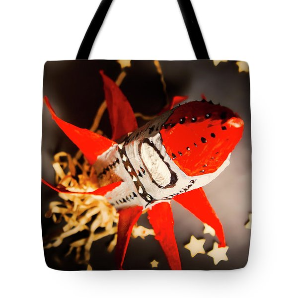 Space Launch To Seek And Discover Tote Bag