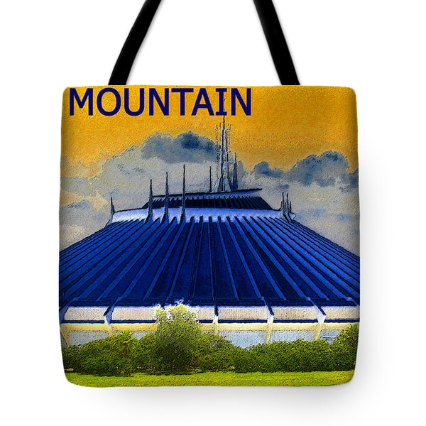 Space Mountain Tote Bag