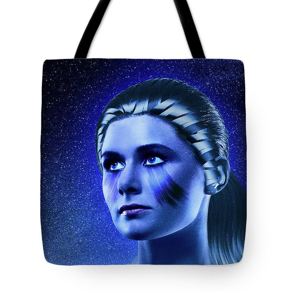 Space Odyssey Tote Bag by Scott Meyer