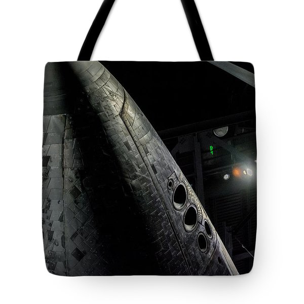 Space Shuttle Nose  Tote Bag by David Collins