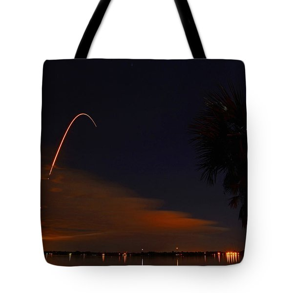 Space Station Bound Tote Bag