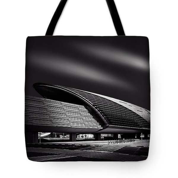Dubai Metro Station Mono Tote Bag