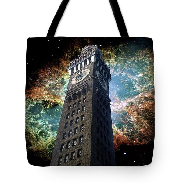 Space-time Tote Bag by Brian Wallace