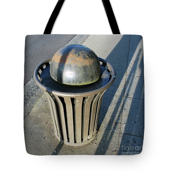 Tote Bag featuring the photograph Space Trash by Bill Thomson