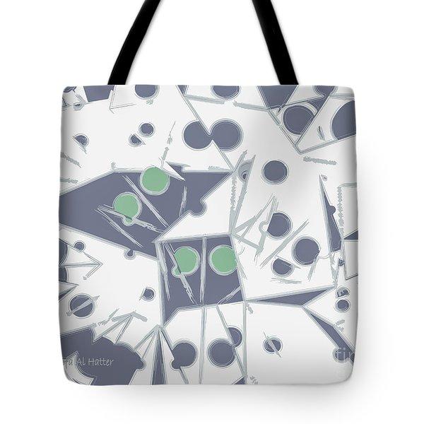 Space Warp  Tote Bag by Moustafa Al Hatter