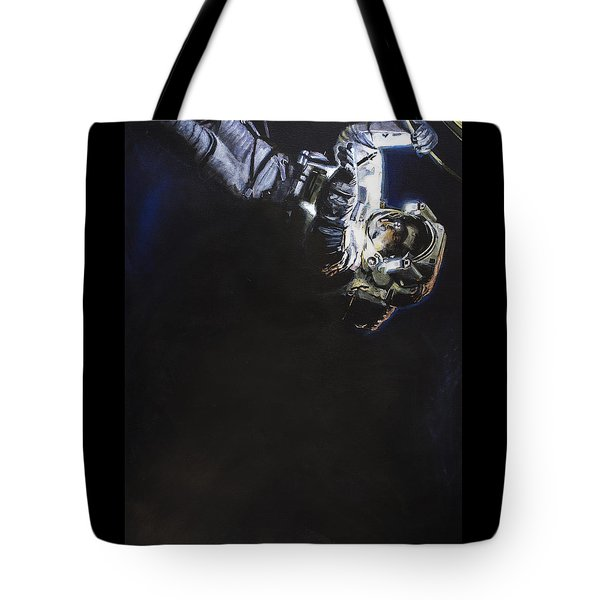 Spacewalk 1  Tote Bag by Simon Kregar