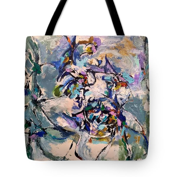 Spacial Encounter Tote Bag