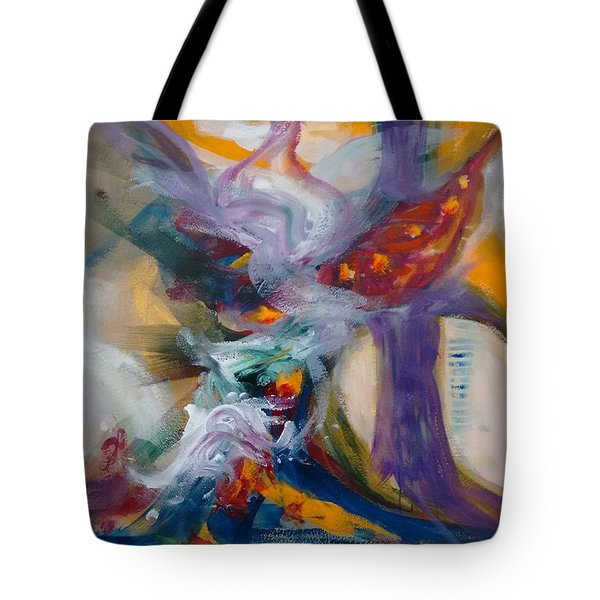 Spacial Encounters Tote Bag