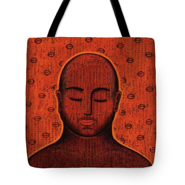 Tote Bag featuring the mixed media Spacious Awareness by Gloria Rothrock