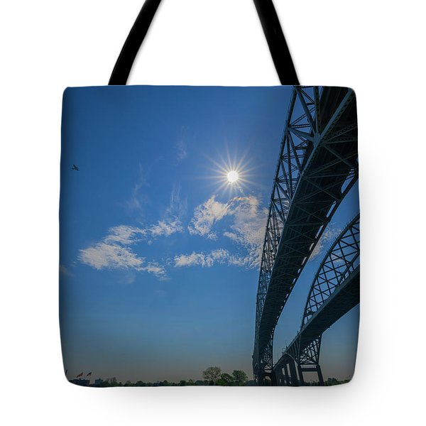 Spacious Skies Tote Bag