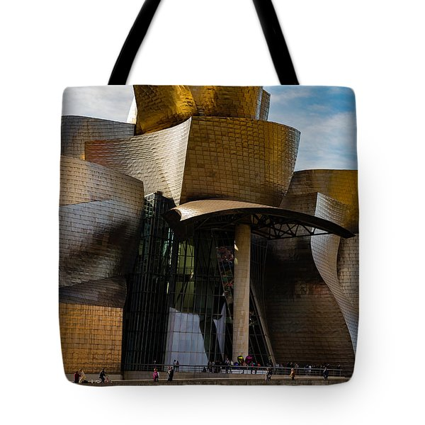 The Guggenheim Museum Spain Bilbao  Tote Bag