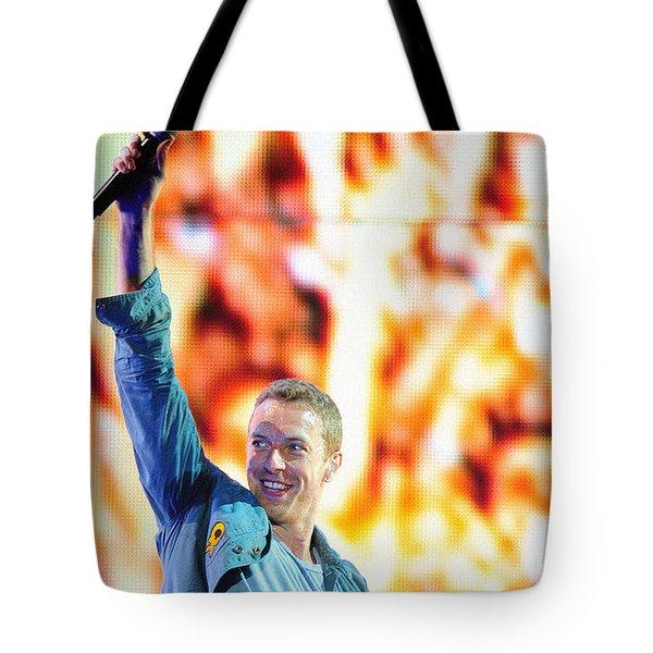 Coldplay4 Tote Bag by Rafa Rivas