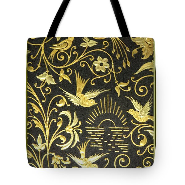 Tote Bag featuring the photograph Spanish Artistic Birds by Linda Phelps