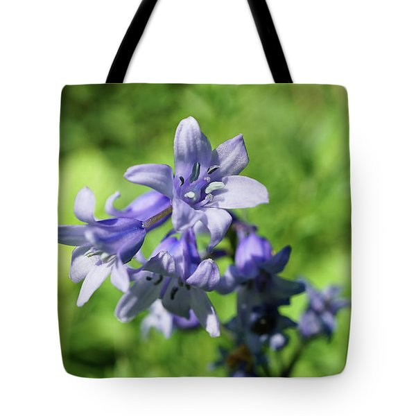 Spanish Bluebell Tote Bag
