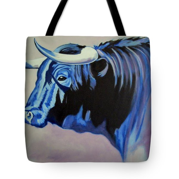Spanish Bull Tote Bag