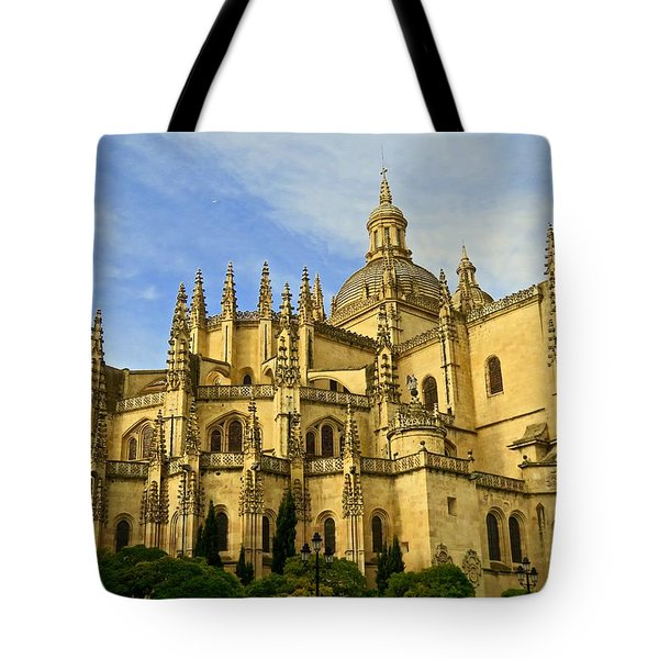 Spanish Cathedral Tote Bag