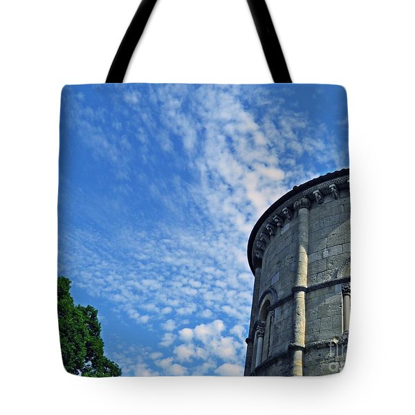 Spanish Chapel Exterior Cloisters  Tote Bag